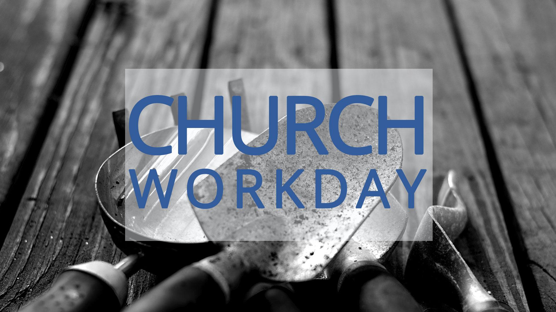 Church Work Day Vessel Orlando